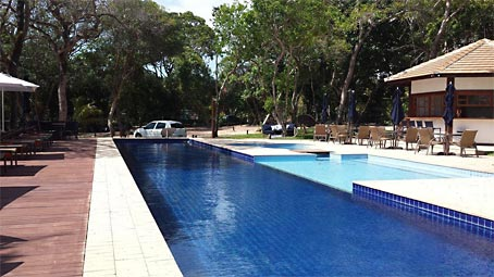 Apartamento de Dois Quartos em Condomínio Verde Próximo à Vila