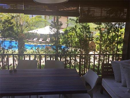 Apartamento Mobiliado de Dois Quartos Próximo à Vila
