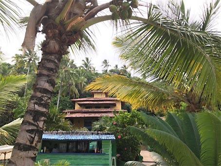 Arraial d'Ajuda - Casa Com Restaurante Na Praia