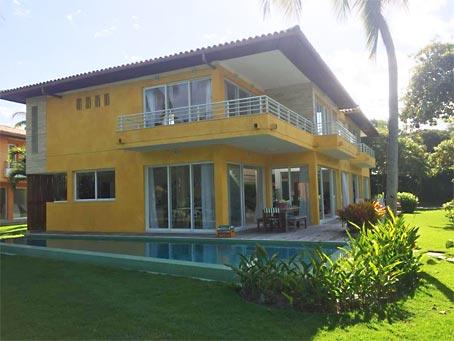 Arraial d'Ajuda - Casa Em Condomínio De Luxo Beira Mar