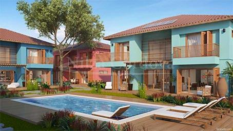 Arraial D 'Ajuda – Casas com 3 Quartos em Condomínio Premium de Frente para a Praia