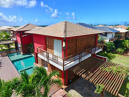 Five-bedroom Upscale House In Praia do Forte