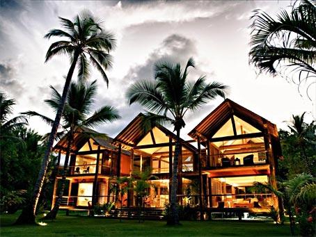 Casa Grande com 5 Quartos ao Lado da Praia em Boipeba