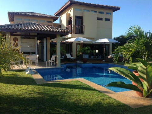 4-Bedroom House In A Luxury Condo In Costa Do Sauipe