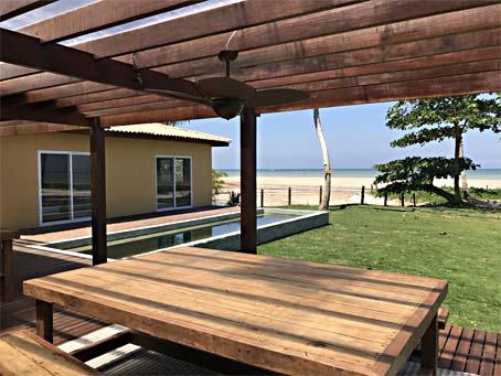 Casa Nova em Resort de Frente Pra Praia