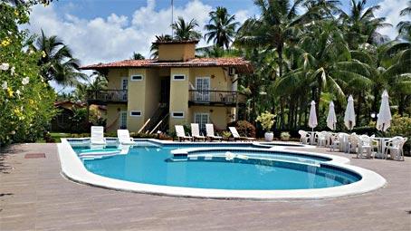 Hotel Privilegiado Com Chalés Perto da Quinta Praia