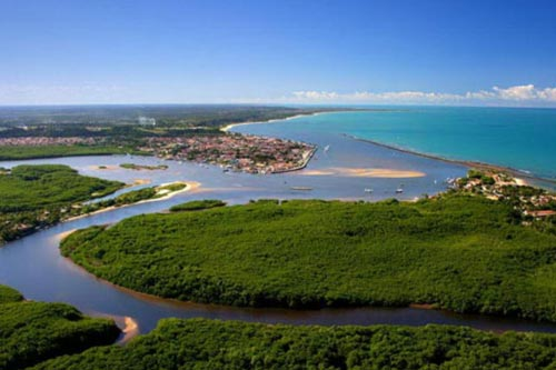 Porto Seguro Aerial View