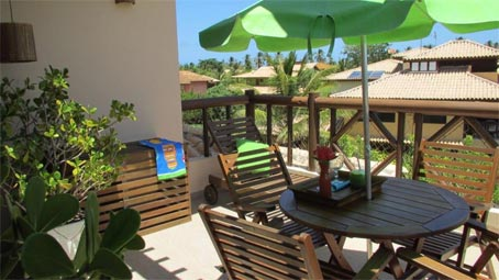 Furnished Duplex 3 Bedroom Apartment In Praia do Forte