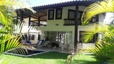 Beautiful 4-Bedroom House In Praia do Forte