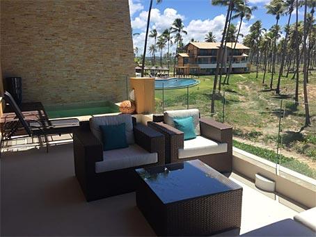 Apartamento de Quatro Quartos em Complexo Iberostar de Frente para o Mar