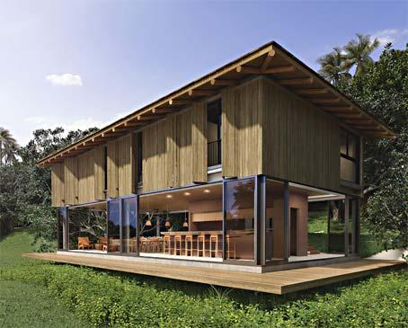 Grande Casas de 3 Quartos em Condomínio à Beira-mar