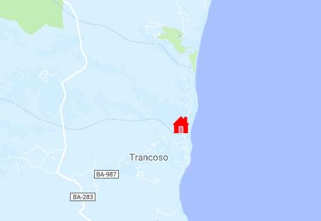 Trancoso Map