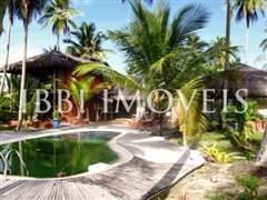 Linda Casa Com 58M De Praia Localizada Próxima A  1