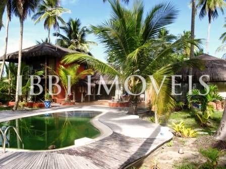 Beautiful House with 58m of beach located close to Ilheus 1