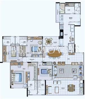 Apartamento 4 Suítes - Le Parc
