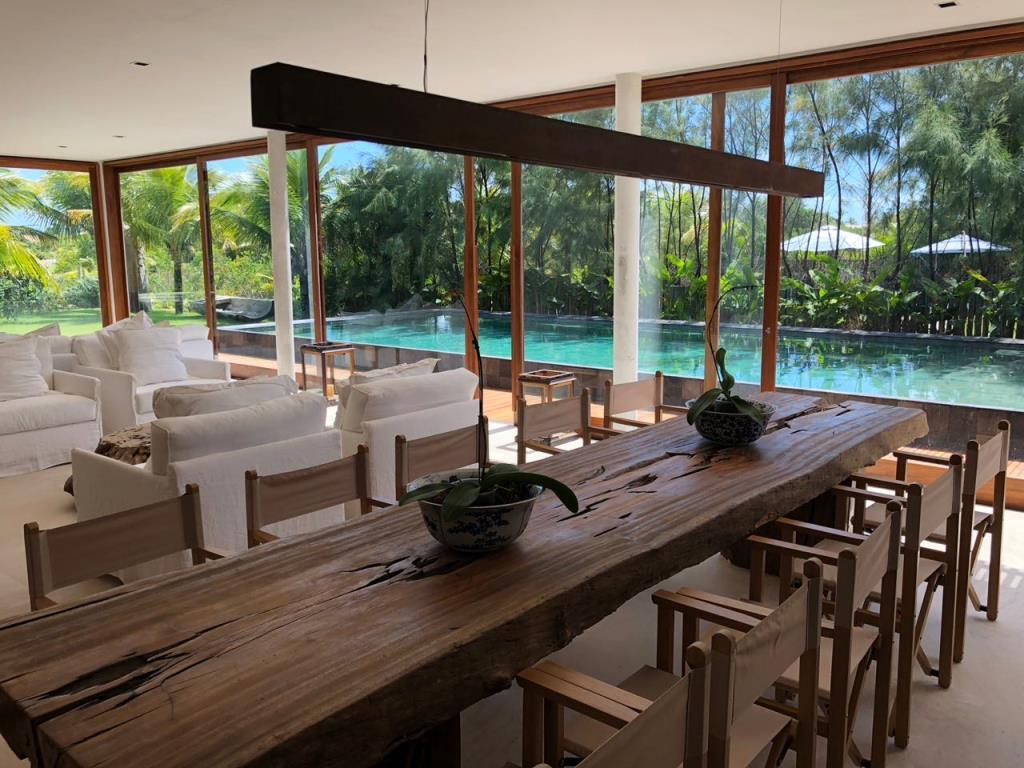 Bela Casa Em Condomínio Frente Mar 6