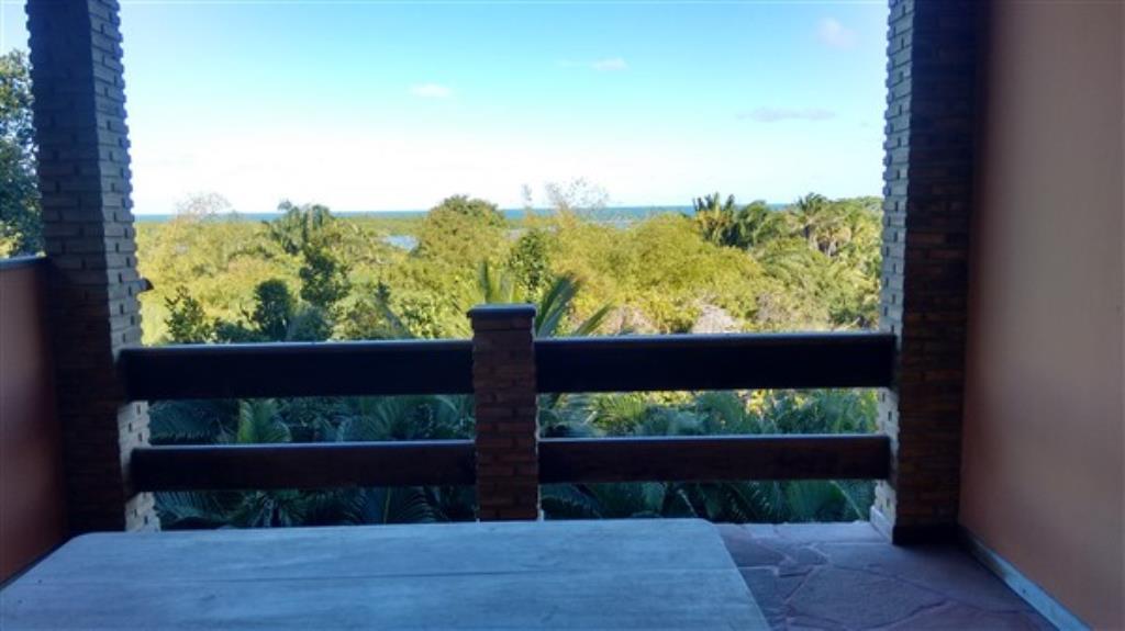 Casa Com Vista Total Para O Mar E Grande Área Verde Em Ba 1