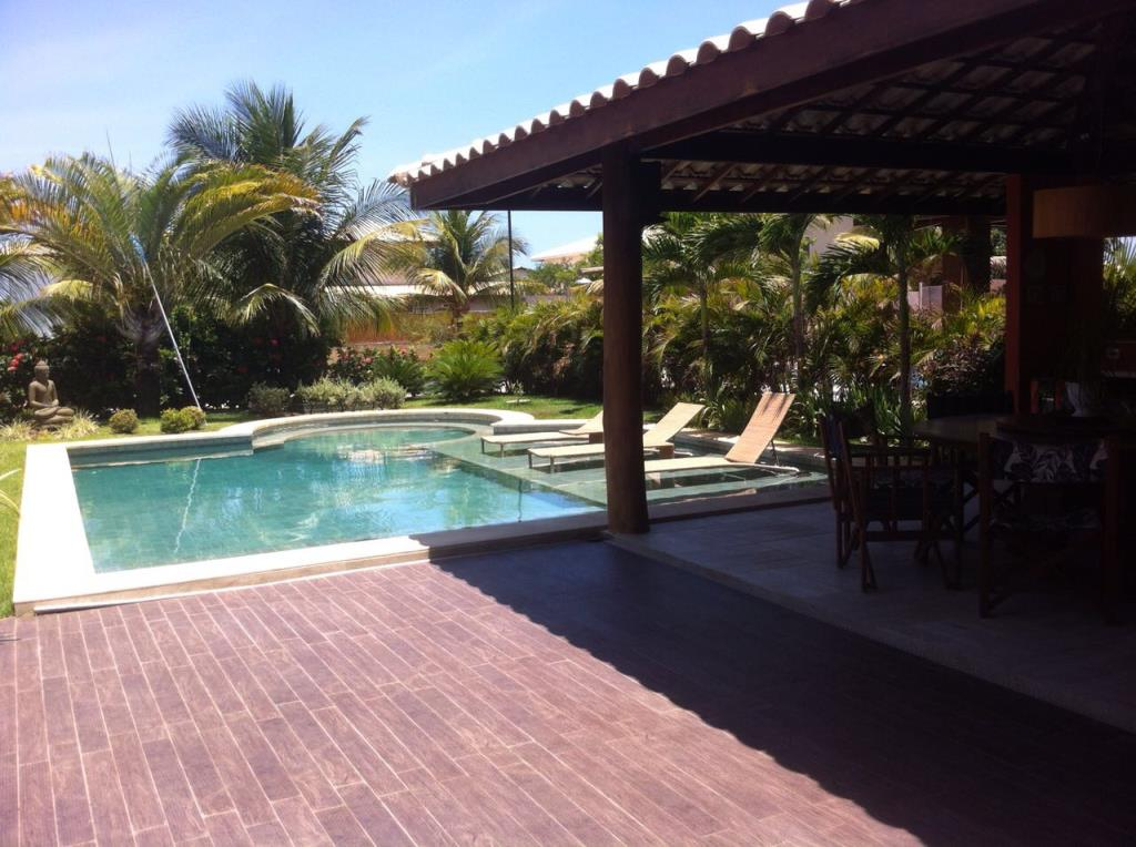 Excelente casa con vista al mar guarajuba en venta for Casas con vista al mar