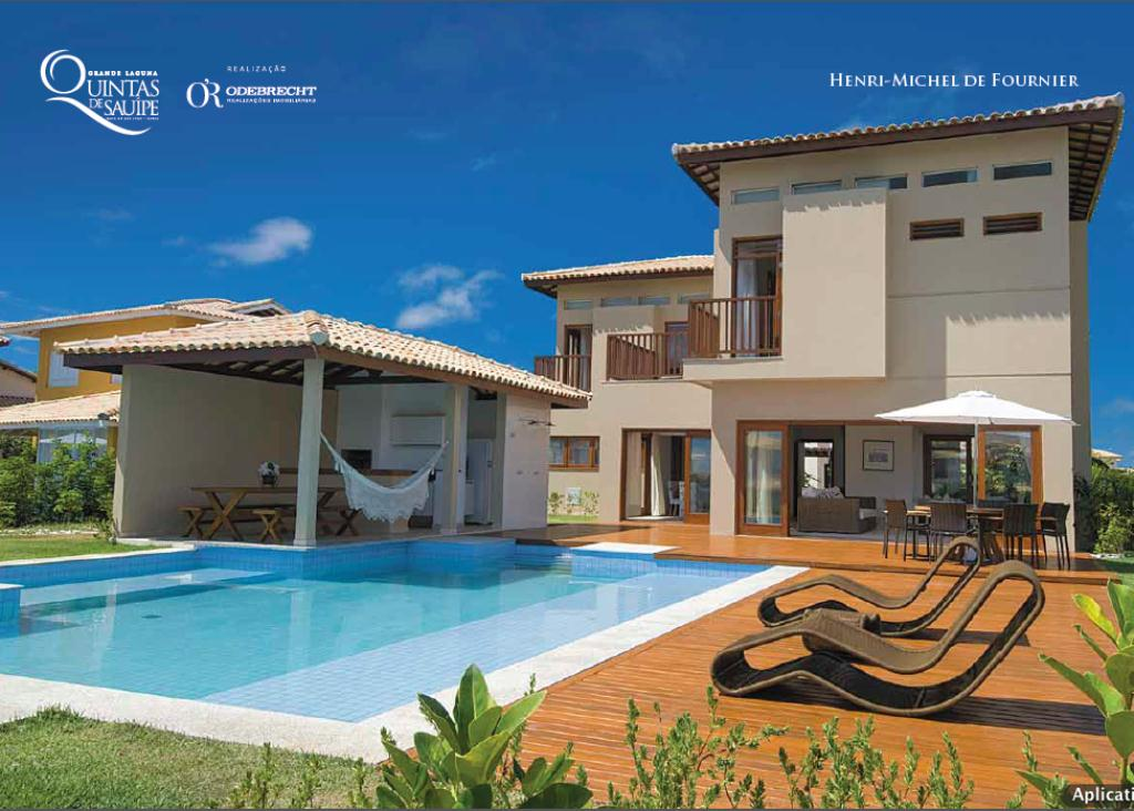 Upscale homes in Costa de Sauipe 1