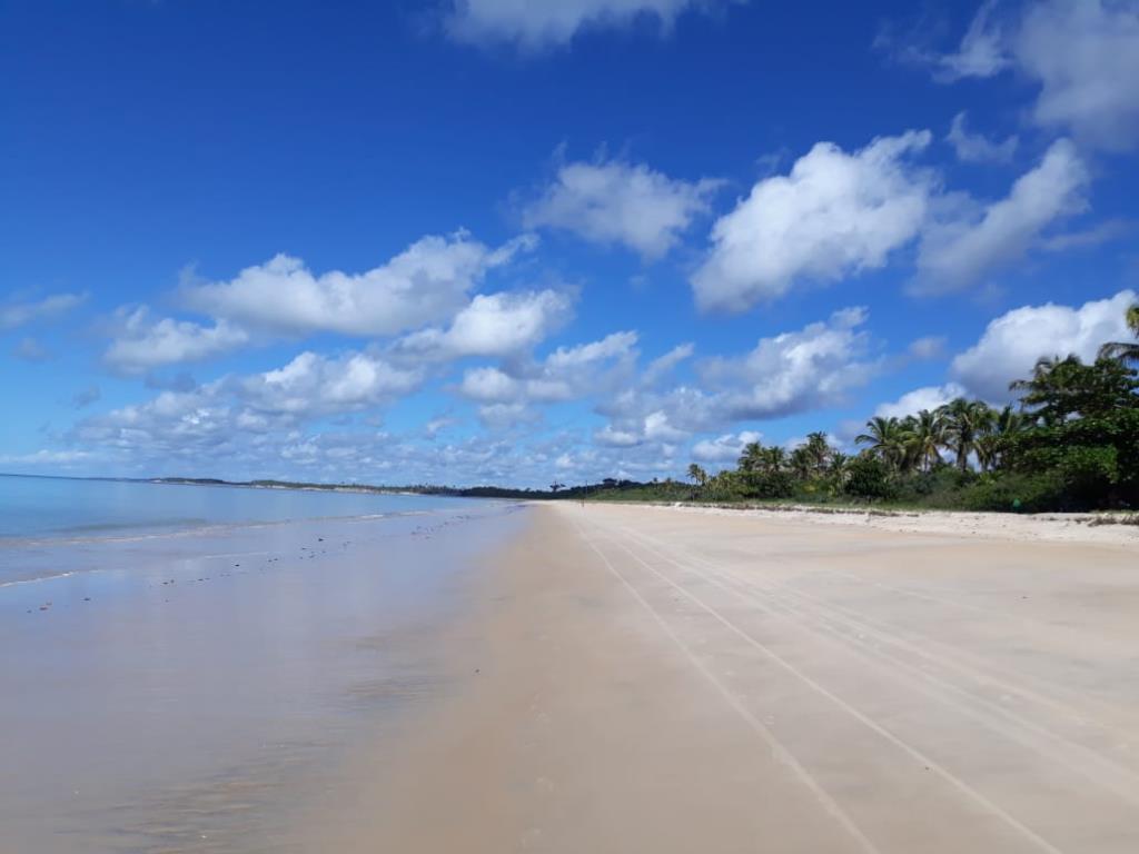 Bellissima Terra Mare Fronte Piede Nella Sabbia 5