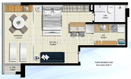 Loft With Balcony In Great Location 10