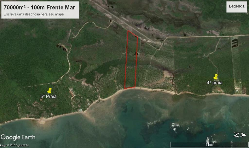 Ótimo Terreno Na Quinta Praia  3