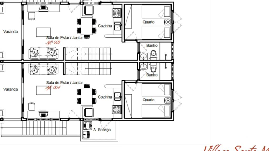 Villaggi Duplex con 02 camere 5