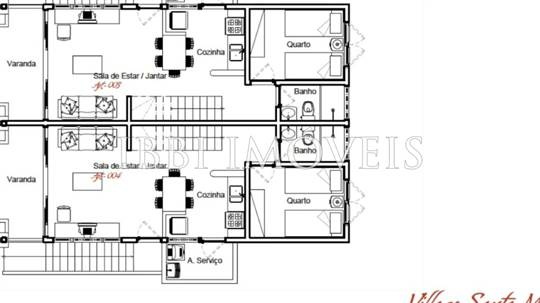 Villages Duplex Com 02 Quartos 5